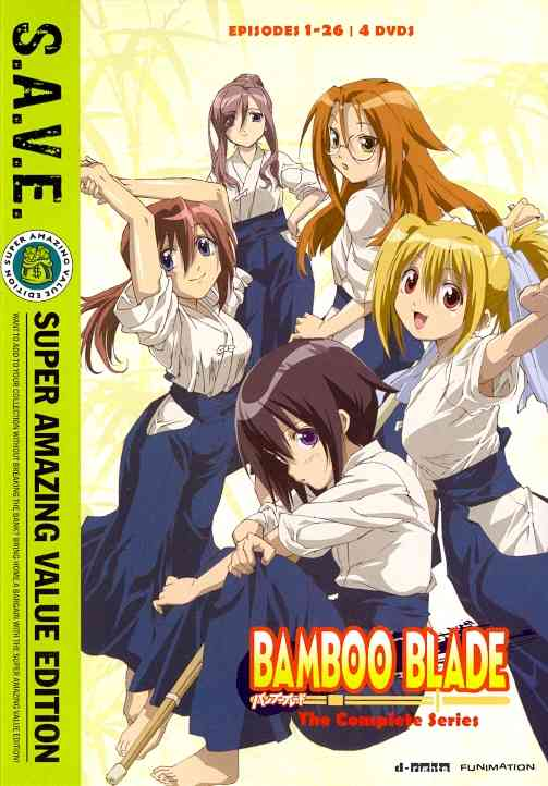 BAMBOO BLADE:COMPLETE SERIES (SAVE) BY BAMBOO BLADE (DVD)